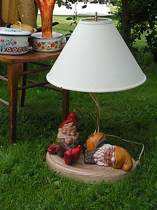 Gardenknomelamp