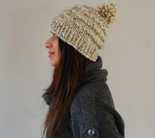 Free Knitting Pattern Hat Bulky Yarn : Free Pattern: The Vermonter - SpiderWomanKnits
